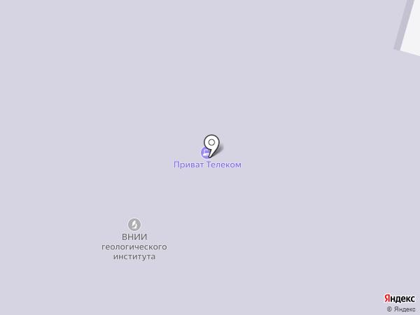 Всероссийский геологический НИИ им. А.П. Карпинского на карте Москвы