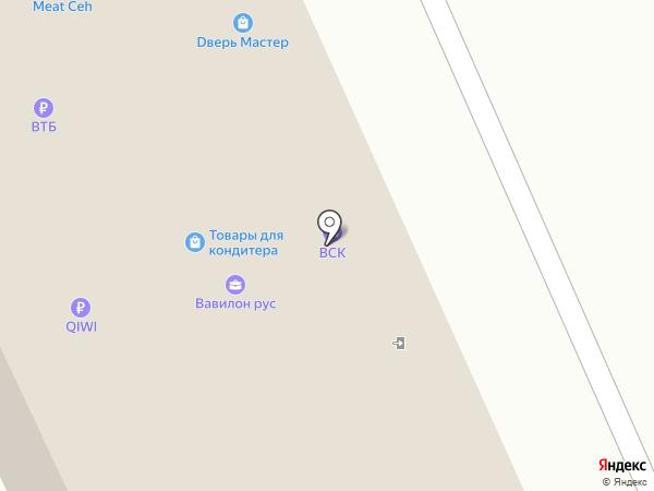 Прокатная компания на карте Москвы