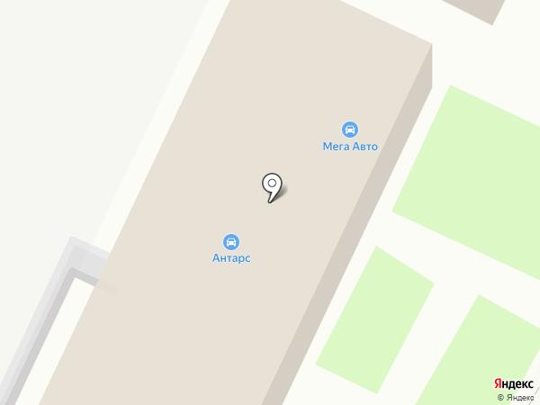 Мега-Авто на карте Лобни