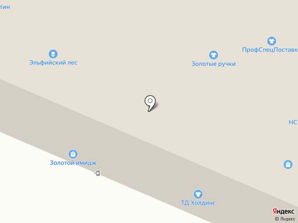 Золотые ручки на карте Москвы