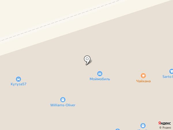 Моймобиль на карте Москвы