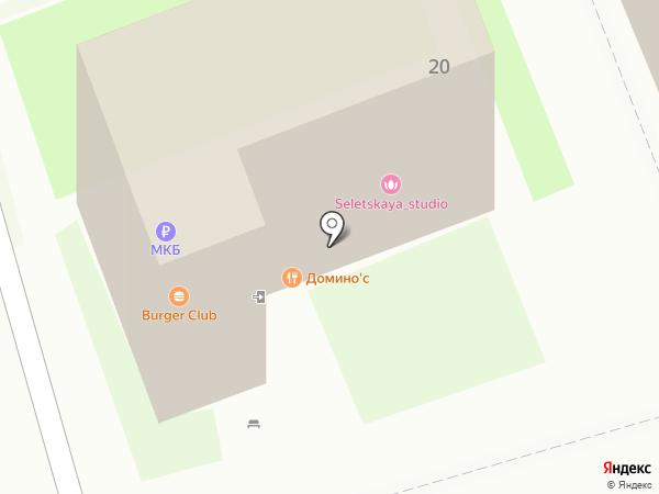 Платежный терминал, Московский кредитный банк, ПАО на карте Лобни