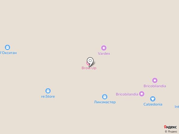 Vзгляд на карте Москвы