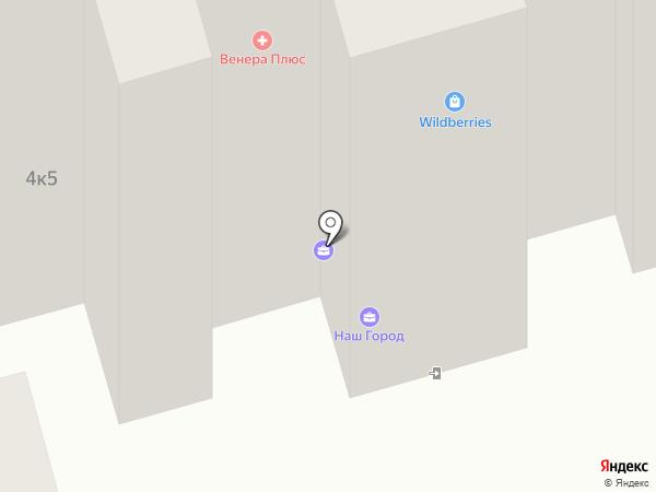 Наш город на карте Лобни