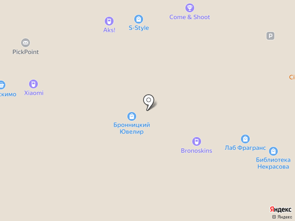 Бронницкий Ювелир на карте Москвы