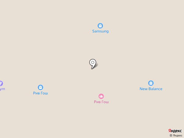 Colin`s на карте Москвы