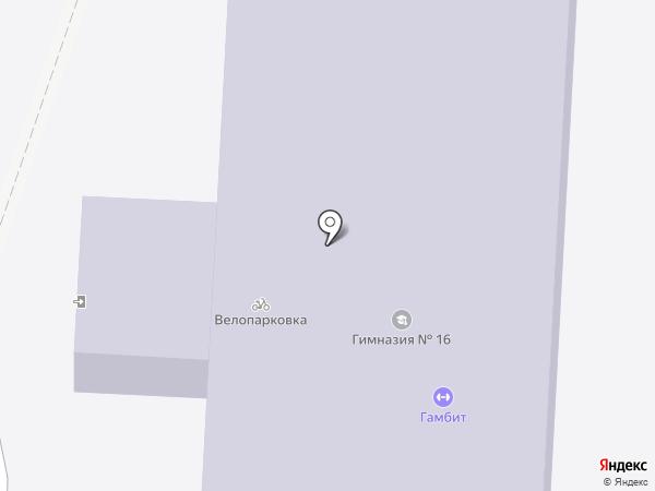 Раменки на карте Химок