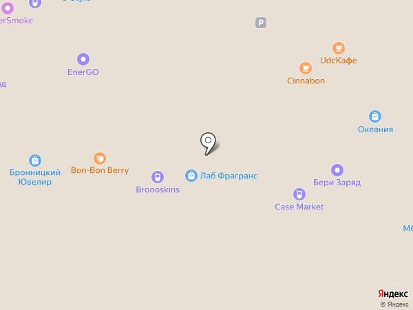Вудспирит на карте Москвы