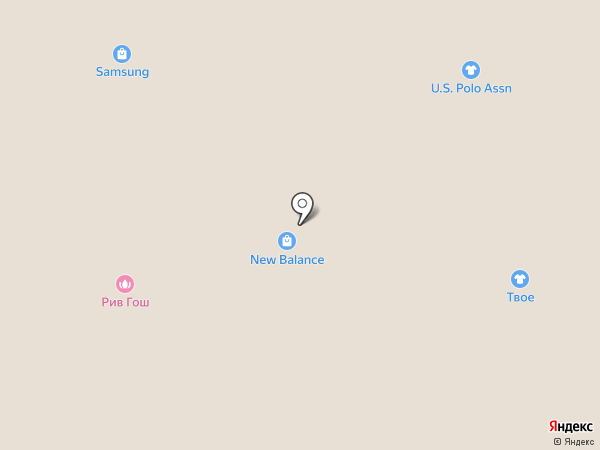 Tom Tailor на карте Москвы
