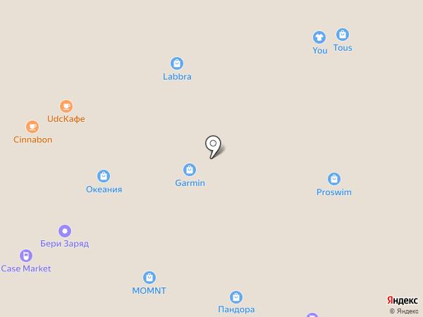 TTFY на карте Москвы