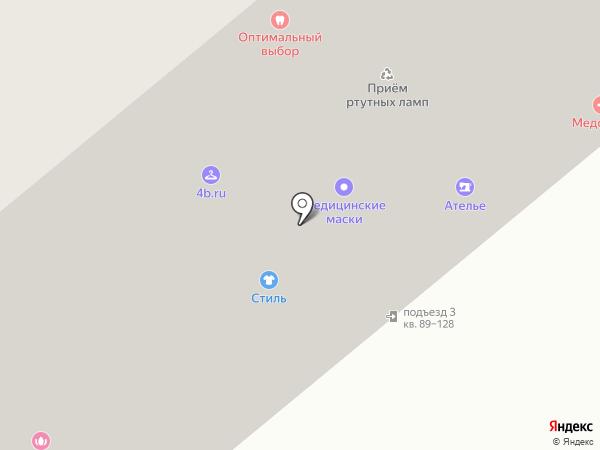 Оптимальный выбор на карте Москвы