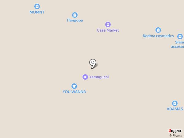 GNC на карте Москвы