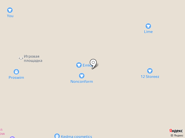 TEOREMA officewear на карте Москвы