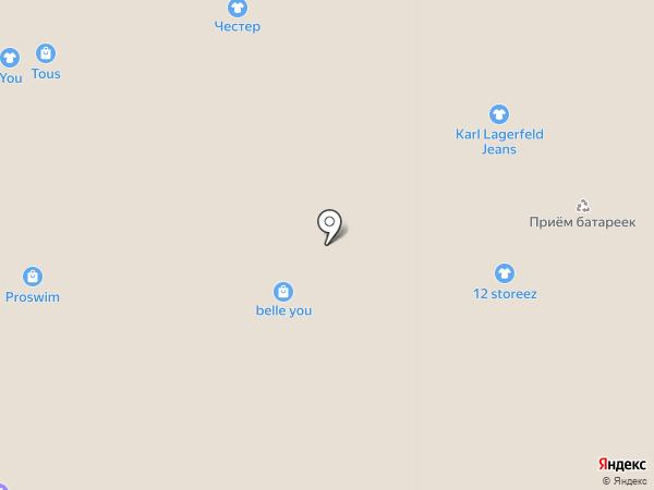 Cacharel на карте Москвы