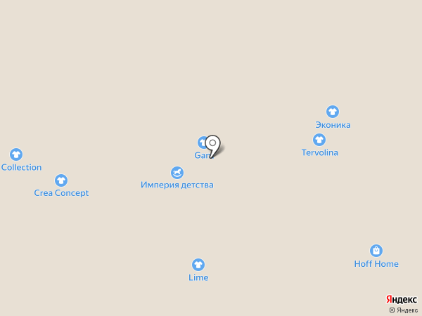 Calipso на карте Москвы