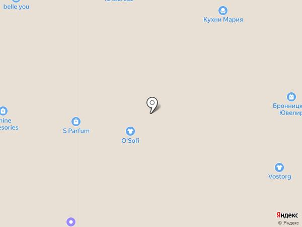O`Sofi на карте Москвы