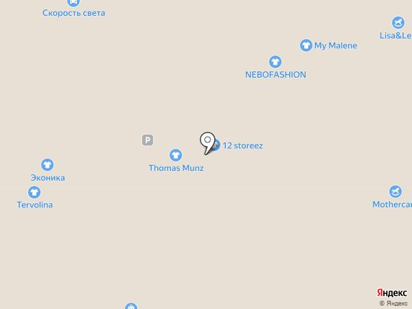 ELC на карте Москвы