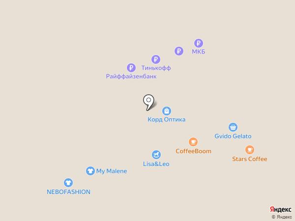 Банкомат, Бинбанк, ПАО на карте Москвы