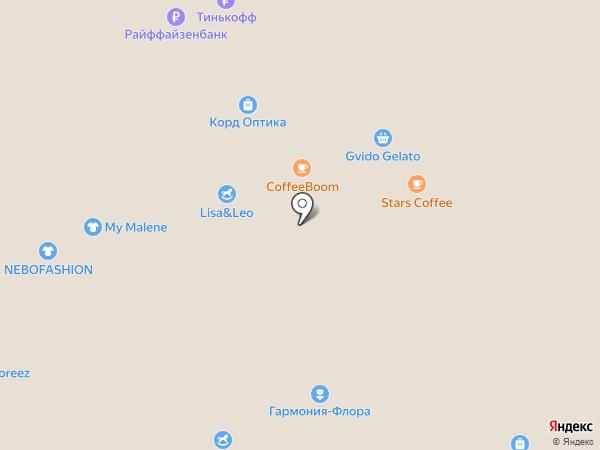Kiko Milano на карте Москвы