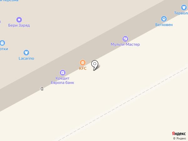 Каприз на карте Москвы