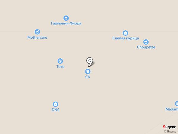 Снежная Королева на карте Москвы