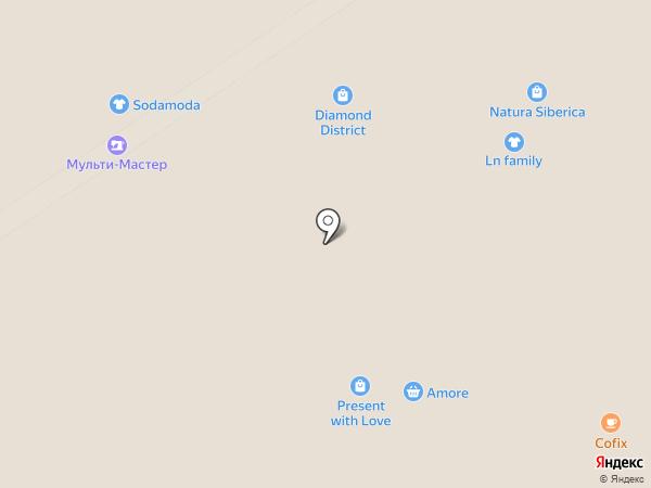 Мульти-Мастер на карте Москвы