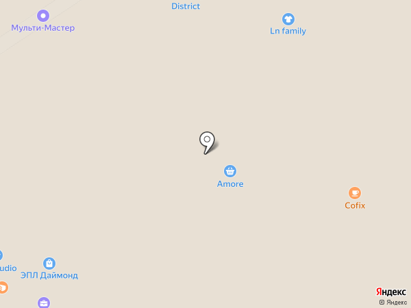 Буратино на карте Москвы