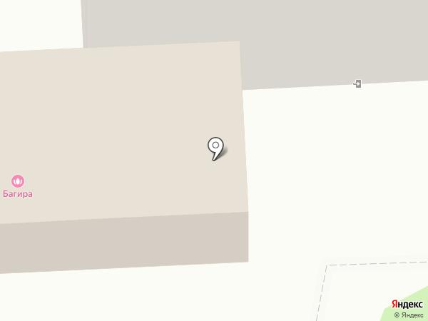 Багира на карте Чехова