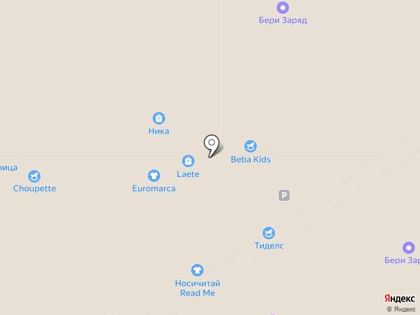 Tutti Frutti на карте Москвы
