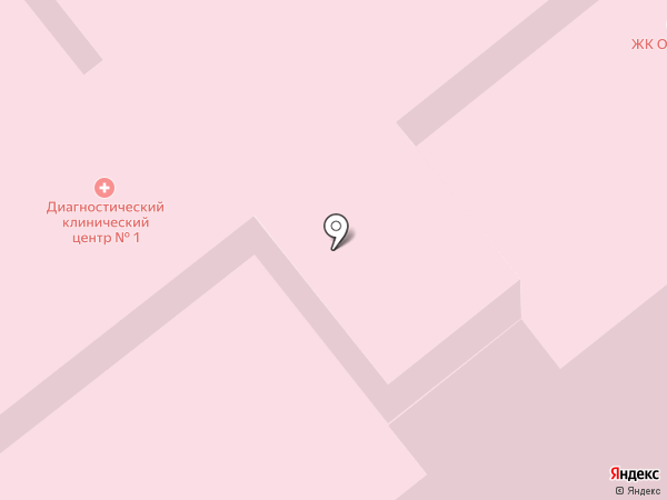 Поликлиника на карте Москвы