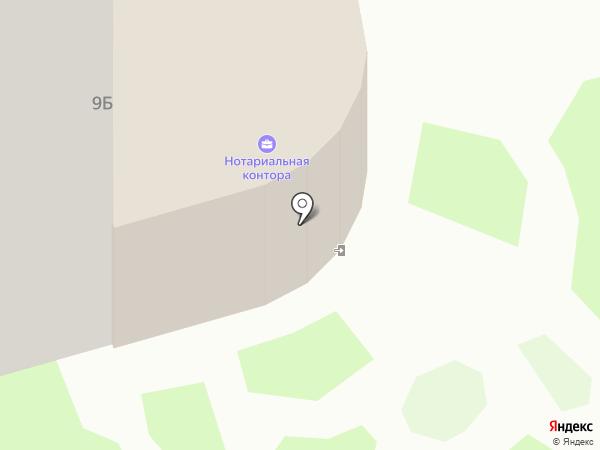 Нотариус Квартальнова М.А. на карте Лобни