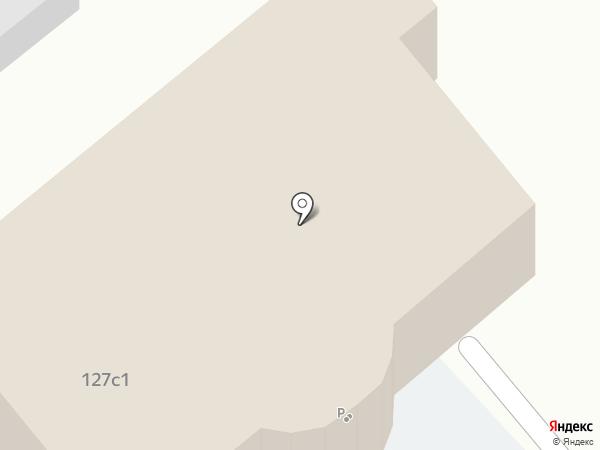 Автомойка на Ленинском проспекте на карте Москвы