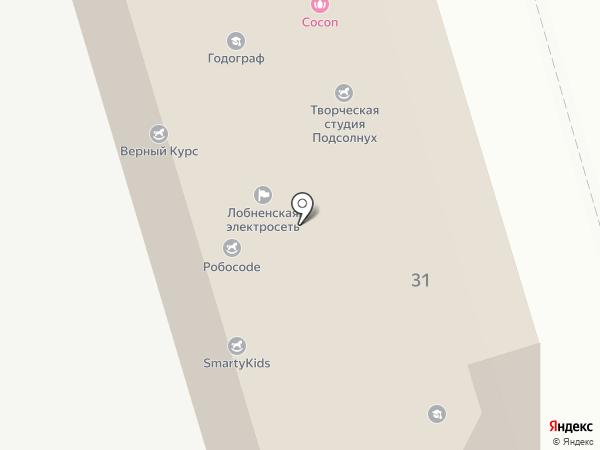 Лобненская электросеть на карте Лобни