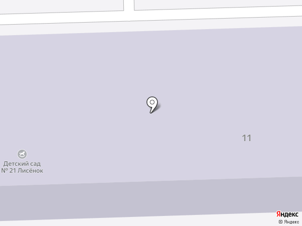 Детский сад №21 на карте Чехова