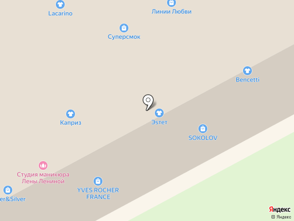 ПрезидентВотчес.Ру на карте Москвы