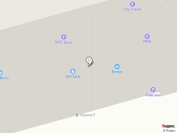 УБРиР на карте Лобни