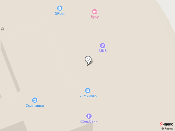 Якитория на карте Москвы
