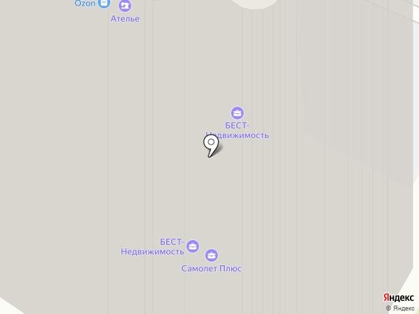 Дом быта на Флотской на карте Москвы
