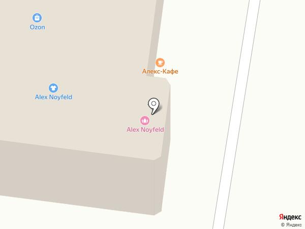 Деповской на карте Лобни