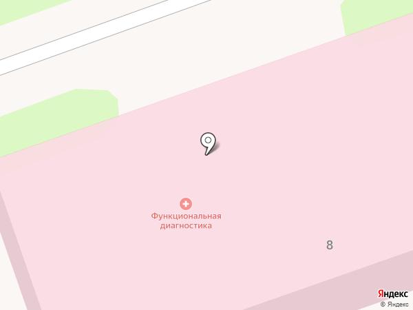 Чеховская городская поликлиника на карте Чехова