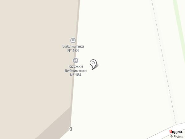 Радужный на карте Москвы