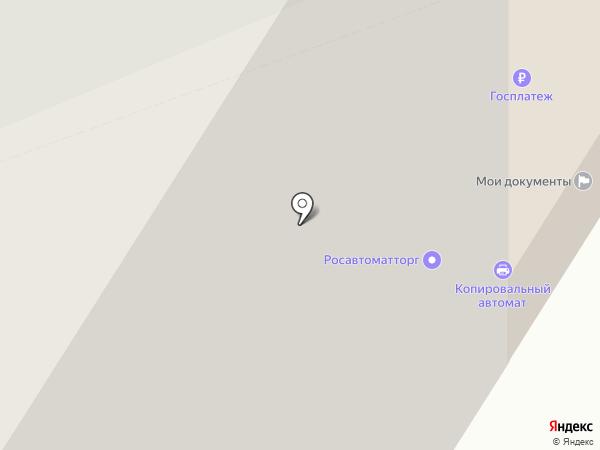 Лига Роботов на карте Москвы