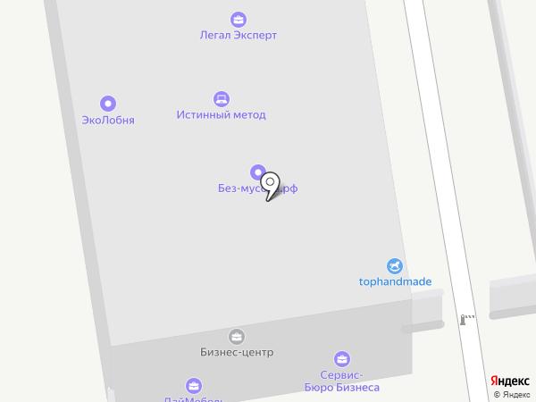 Насок на карте Лобни