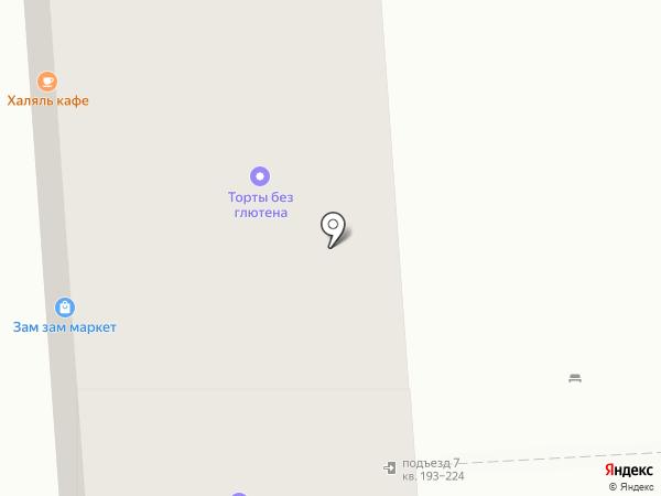 Орхидея на карте Москвы