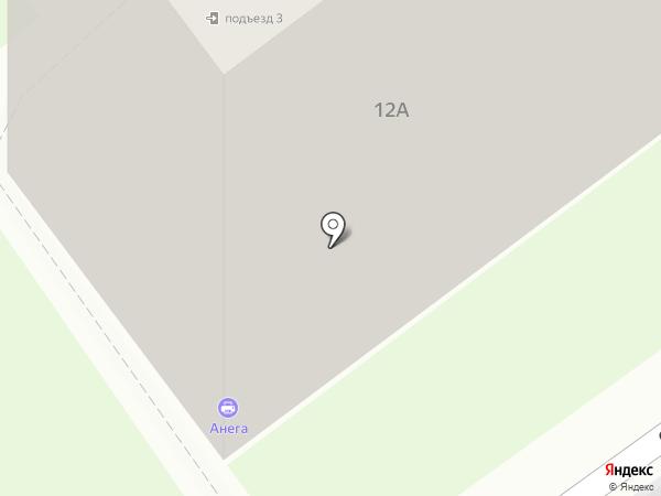 Анега на карте Чехова