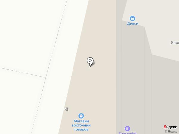 Дикси на карте Подольска