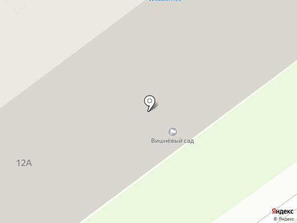 Вишневый сад на карте Чехова