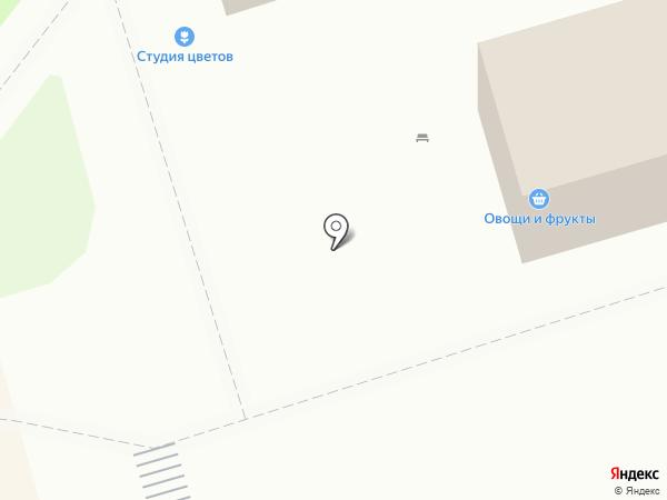 Киоск по продаже колбасных изделий на карте Лобни