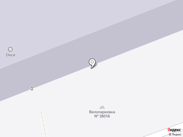 Окси на карте Москвы