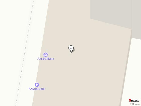 Мясной №1 на карте Москвы